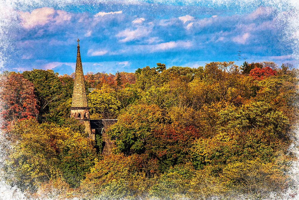 Country Spire by Chris Lord