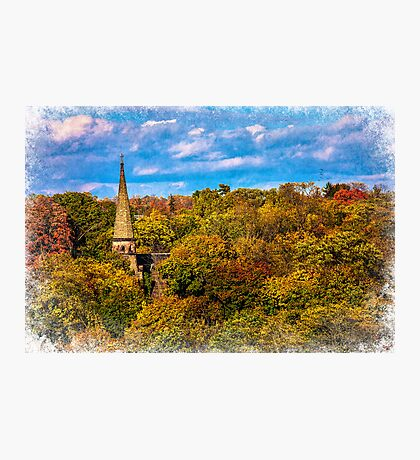 Country Spire Photographic Print
