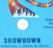 Sugar Hill - The Show Down Sticker
