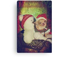 Zoe's Sleigh Ride Canvas Print