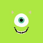 Mike Wazowski by lonelytourists