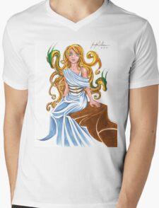 Cerce with her Dragons Mens V-Neck T-Shirt