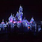 Day After Christmas At Disneyland - Castle by swiftjennifer