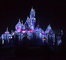 Day After Christmas At Disneyland - Castle by swiftjennifer
