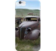 Ghost town car iPhone Case/Skin