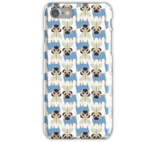 Hanukkah Pugs with Menorah iPhone Case/Skin