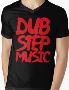 Dubstep Music Mens V-Neck T-Shirt