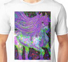 Horse Fantasy Mosaic Unisex T-Shirt