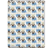 Hanukkah Pugs with Menorah iPad Case/Skin