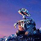 Stargazing Wall-E by lonelytourists