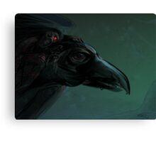 Dark Rider Canvas Print