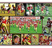 2012 Broncos - Shane Adams #77 by Russell Adams