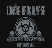 Zombie Emergency Response Division 666 by David Ayala