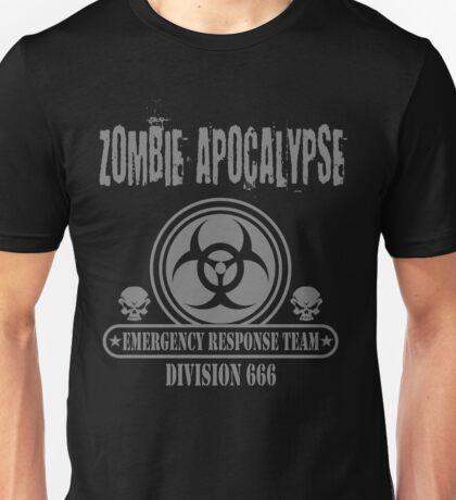 Zombie Emergency Response Division 666 Unisex T-Shirt
