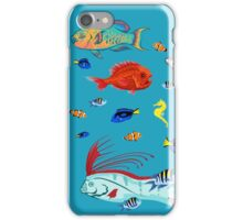 I Am Thankful For Fish iPhone Case/Skin