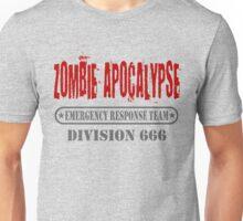 Zombie Apocalypse Emergency Response Division Unisex T-Shirt