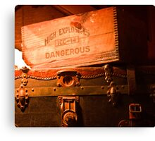 High Explosives Canvas Print