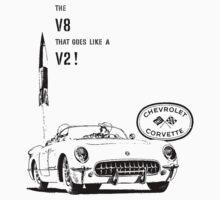 1955 Corvette by garts