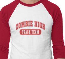 Zombie High Track Team Men's Baseball ¾ T-Shirt