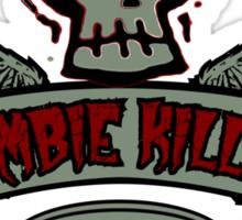 Zombie Killer Elite Sticker