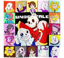 Undertale Group Poster