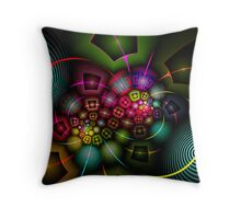 Psychedelic Experience Throw Pillow