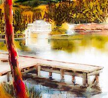 Shepherd Mountain Lake Dreamy by KipDeVore