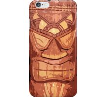 Carved Wooden Tiki iPhone Case  iPhone Case/Skin