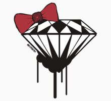 DIAMOND WITH A BOW TIE :D One Piece - Short Sleeve