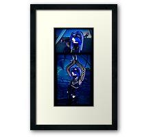 Blu Set Framed Print