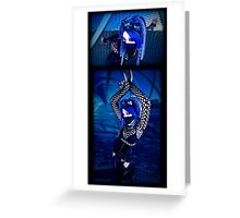 Blu Set Greeting Card