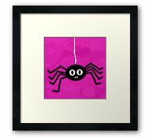 ITSY BITSY SPIDER - PINK Framed Print