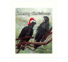 'COCKY CHRISTMAS' Art Print