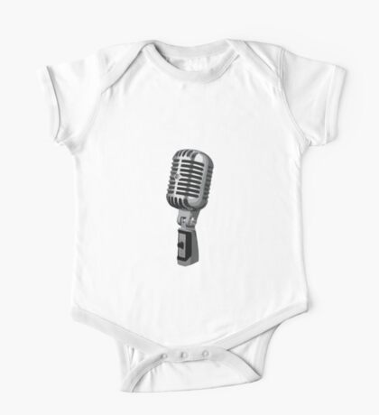 Shure 55 Classic Vintage Microphone  One Piece - Short Sleeve