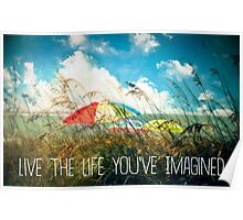 Live the Life You've Imagined Poster