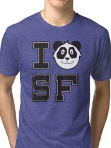 I Panda San Francisco Tri-blend T-Shirt