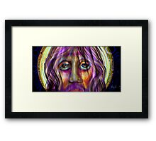 Christ. by Alma Lee Framed Print