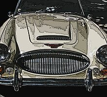 Austin Healey 3000 MK III by Samuel Sheats