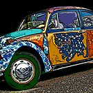 Hippie VW Bug by Samuel Sheats
