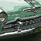Classic DeSoto Grille by Samuel Sheats