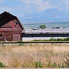 Tetons -  As Seen From Rexburg, ID by CADavis