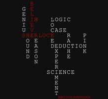#BELIEVEINSHERLOCK WORD-PUZZLE Unisex T-Shirt