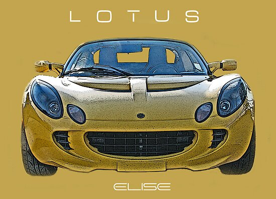 Lotus Elise by Samuel Sheats