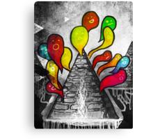 A Volcano of Souls (remix) Canvas Print