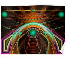 FUT#9: Space Dock Green Lights  (G0932) Poster