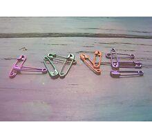 Love Pins Photographic Print