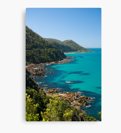 Great Ocean road View Canvas Print