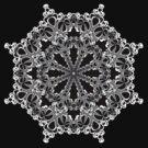 Mandala Circle : Decorative B&W Design by webgrrl