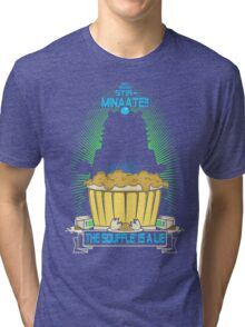 The Souffle' Is A Lie (eggggsTERMINATE!) Tri-blend T-Shirt