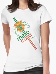 Mellow Cola Womens Fitted T-Shirt
